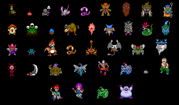 final fantasy IV DWIV Monsters